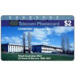 The Phonecard Shop: Canberra National Capital, Royal Australian Mint, $2