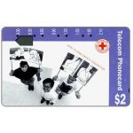 The Phonecard Shop: Australia, Red Cross, Health & Safety (code N91011-1-2), $2