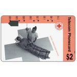 The Phonecard Shop: Red Cross, Blood Transfusion (code N91012-1), $2