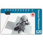 The Phonecard Shop: Red Cross, International Assignments (code 91016-4-2), $20