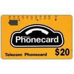 The Phonecard Shop: Australia, Generic (code GC20), $20