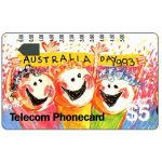 The Phonecard Shop: Australia, Australia Day 1993, $5
