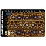 The Phonecard Shop: Australia, World's Indigenous People, Creation of Life, $5