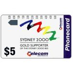 The Phonecard Shop: Australia, Sydney 2000 bid, $5