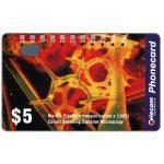 The Phonecard Shop: Australia, Colour Scanning Electron Microscopy, Marine Plancton, $5