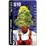 The Phonecard Shop: Australia, Environment Protection, Plant a Tree, $10