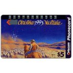 The Phonecard Shop: Christmas 1993, outback, $5