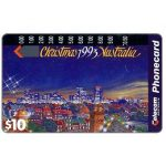 The Phonecard Shop: Australia, Christmas 1993, city, $10