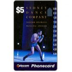 The Phonecard Shop: Australia, Sydney Dance Company, $5