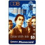 The Phonecard Shop: Australia, Sony Music, CDB, $5