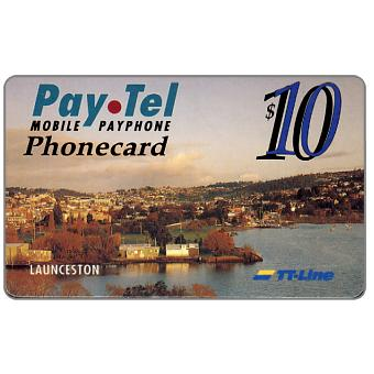 Phonecard for sale: PayTel - First Issue, Abel Tasman Trial, Launceston, $10