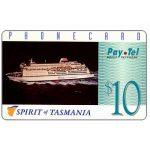 The Phonecard Shop: Australia, PayTel - Second issue, Spirit of Tasmania, $10