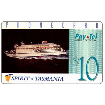 The Phonecard Shop: PayTel - Second issue, Spirit of Tasmania, $10