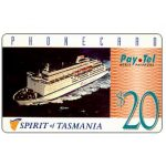 The Phonecard Shop: PayTel - Second issue, Spirit of Tasmania, $20