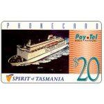 The Phonecard Shop: Australia, PayTel - Second issue, Spirit of Tasmania, $20