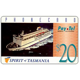 PayTel - Second issue, Spirit of Tasmania, $20