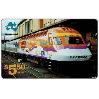The Phonecard Shop: PayTel - Centenary of Federation Countrylink XPT, $5.50