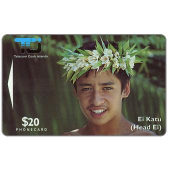 The Phonecard Shop: Ei Katu - Tiare Maori, $20