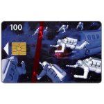 The Phonecard Shop: Denmark, Tele Danmark - Space Men, SN 6201, 31.12.97, 100 kr
