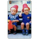 The Phonecard Shop: Tele Danmark - Two happy boys, 30 kr
