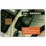 The Phonecard Shop: Denmark, Danmønt - Unifon, 100 kr