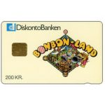 The Phonecard Shop: Danmønt - Bonbon-Land, 200 kr