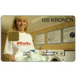 The Phonecard Shop: Denmark, Danmønt - Miele, 04.96, 100 kr