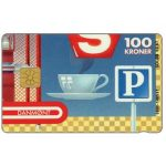 The Phonecard Shop: Danmønt - Multiservice, puzzle 4/4, 100 kr