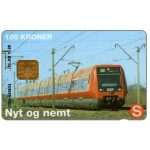 The Phonecard Shop: Denmark, Danmønt - DSB train, 10.98, 100 kr