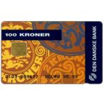 The Phonecard Shop: Denmark, Danmønt - Den Danske Bank, 02.98, 100 kr