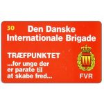 The Phonecard Shop: Tele Danmark - Danish International Brigade, 30 kr