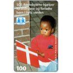 The Phonecard Shop: Denmark, Tele Danmark - Children Town, 100 kr