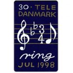 The Phonecard Shop: Tele Danmark - Christmas 1998, 30 kr