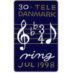 The Phonecard Shop: Denmark, Tele Danmark - Christmas 1998, 30 kr