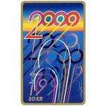 The Phonecard Shop: Denmark, Tele Danmark - New Year 2000, 30 kr