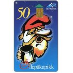 The Phonecard Shop: Christmas 1996, gnome, 50 kr