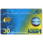 The Phonecard Shop: Estonia, Blue card, 30 kr