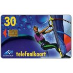 The Phonecard Shop: Windsurfer, 30 kr