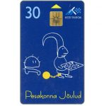The Phonecard Shop: Estonia, Christmas 1997, 30 kr