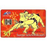 The Phonecard Shop: Estonia, Sumo wrestlers, 30 kr