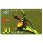 Phonecard for sale: The Lady's-slipper Orchid, 30 kr