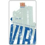 "The Phonecard Shop: Hotel Viru, ""VOID 12/97"" on back, 25 kr"