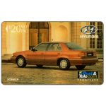 The Phonecard Shop: Fiji Islands, Hyundai - Sonata, code on silver strip, $20