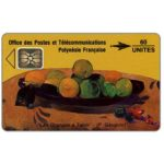 "The Phonecard Shop: French Polynesia, ""Les Oranges a Thaiti"", painting by Paul Gauguin, issue 10/91, 60 units"