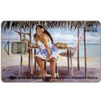 The Phonecard Shop: French Polynesia, Mango Seller, painting by Erhard Lux, 60 units