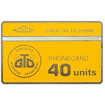 Phonecard for sale: First issue, GTD logo, 40 units