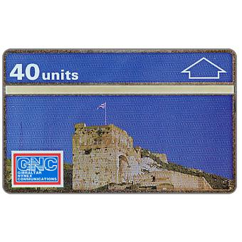 Phonecard for sale: Moorish Castle, 40 units