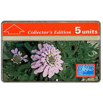Phonecard for sale: Gibraltar Candytuft, 230A, 5 units