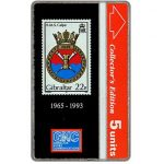 The Phonecard Shop: Gibraltar, Warships 1993, HMS Calpe 1965-1993, 5 units