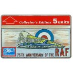 The Phonecard Shop: 75th Anniversary of the Royal Air Force, 5 units
